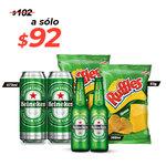 Paquete Heineken
